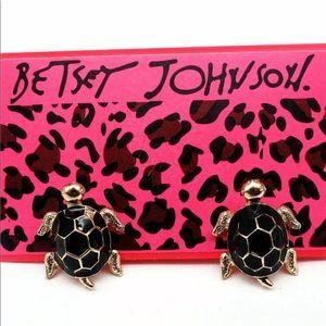 BETSEY Johnson Turtle Earrings